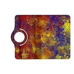 Abstract In Gold, Blue, And Red Kindle Fire Hd (2013) Flip 360 Case