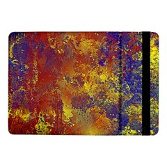 Abstract In Gold, Blue, And Red Samsung Galaxy Tab Pro 10 1  Flip Case