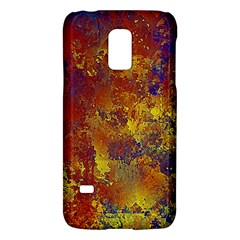Abstract In Gold, Blue, And Red Galaxy S5 Mini