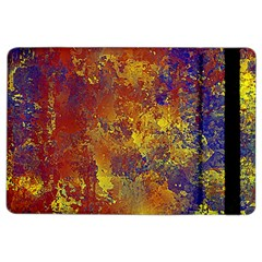 Abstract In Gold, Blue, And Red Ipad Air 2 Flip