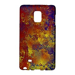 Abstract In Gold, Blue, And Red Galaxy Note Edge