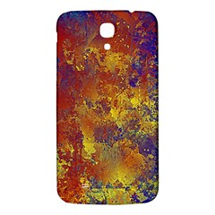 Abstract In Gold, Blue, And Red Samsung Galaxy Mega I9200 Hardshell Back Case