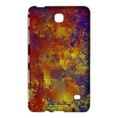 Abstract in Gold, Blue, and Red Samsung Galaxy Tab 4 (7 ) Hardshell Case