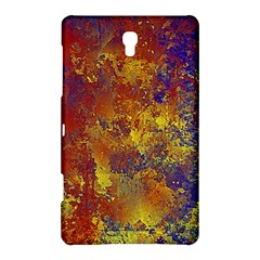 Abstract In Gold, Blue, And Red Samsung Galaxy Tab S (8 4 ) Hardshell Case
