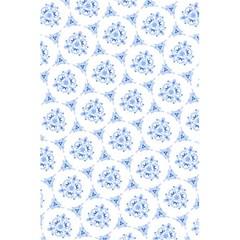 Sweet Doodle Pattern Blue 5 5  X 8 5  Notebooks