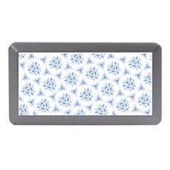 Sweet Doodle Pattern Blue Memory Card Reader (Mini)