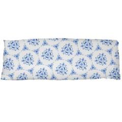 Sweet Doodle Pattern Blue Body Pillow Cases (Dakimakura)