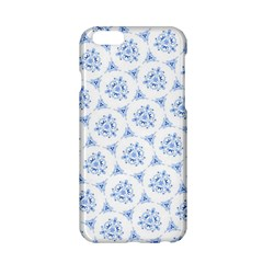 Sweet Doodle Pattern Blue Apple Iphone 6/6s Hardshell Case
