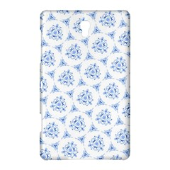 Sweet Doodle Pattern Blue Samsung Galaxy Tab S (8.4 ) Hardshell Case