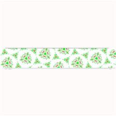 Sweet Doodle Pattern Green Small Bar Mats