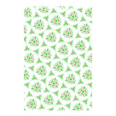 Sweet Doodle Pattern Green Shower Curtain 48  x 72  (Small)