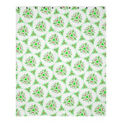 Sweet Doodle Pattern Green Shower Curtain 60  X 72  (medium)