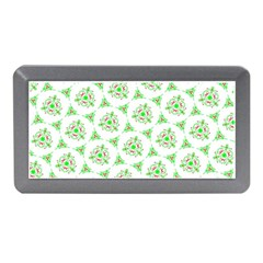 Sweet Doodle Pattern Green Memory Card Reader (Mini)
