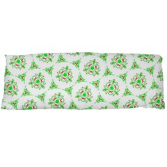 Sweet Doodle Pattern Green Body Pillow Cases Dakimakura (Two Sides)
