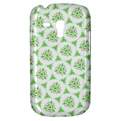 Sweet Doodle Pattern Green Samsung Galaxy S3 Mini I8190 Hardshell Case