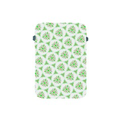 Sweet Doodle Pattern Green Apple Ipad Mini Protective Soft Cases
