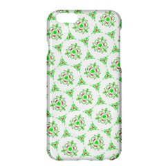 Sweet Doodle Pattern Green Apple Iphone 6/6s Plus Hardshell Case