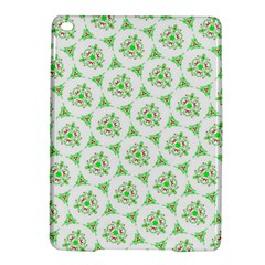Sweet Doodle Pattern Green Ipad Air 2 Hardshell Cases
