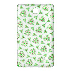 Sweet Doodle Pattern Green Samsung Galaxy Tab 4 (7 ) Hardshell Case