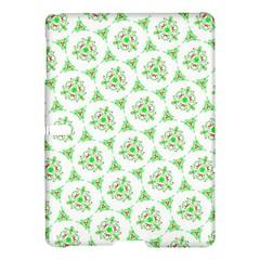 Sweet Doodle Pattern Green Samsung Galaxy Tab S (10.5 ) Hardshell Case