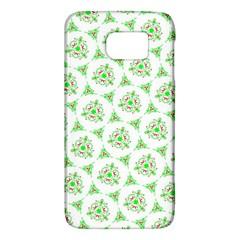 Sweet Doodle Pattern Green Galaxy S6