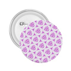 Sweet Doodle Pattern Pink 2.25  Buttons