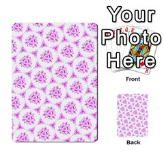 Sweet Doodle Pattern Pink Multi-purpose Cards (Rectangle)