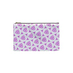 Sweet Doodle Pattern Pink Cosmetic Bag (Small)