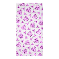Sweet Doodle Pattern Pink Shower Curtain 36  x 72  (Stall)