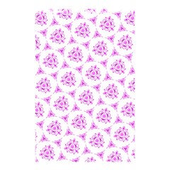 Sweet Doodle Pattern Pink Shower Curtain 48  X 72  (small)