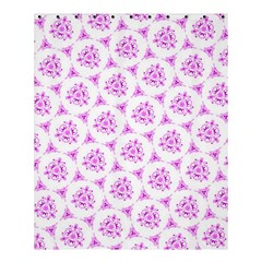 Sweet Doodle Pattern Pink Shower Curtain 60  x 72  (Medium)