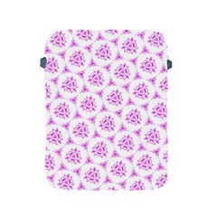 Sweet Doodle Pattern Pink Apple iPad 2/3/4 Protective Soft Cases