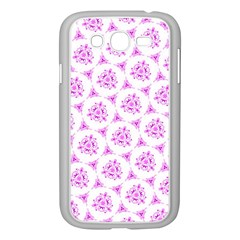 Sweet Doodle Pattern Pink Samsung Galaxy Grand Duos I9082 Case (white)