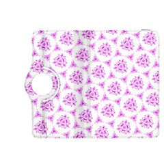 Sweet Doodle Pattern Pink Kindle Fire HDX 8.9  Flip 360 Case