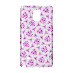 Sweet Doodle Pattern Pink Samsung Galaxy Note 4 Hardshell Case
