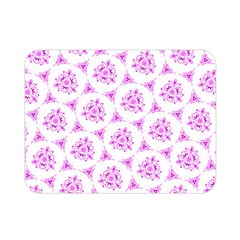 Sweet Doodle Pattern Pink Double Sided Flano Blanket (mini)