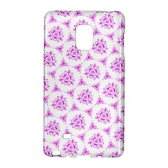 Sweet Doodle Pattern Pink Galaxy Note Edge