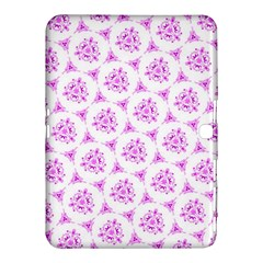Sweet Doodle Pattern Pink Samsung Galaxy Tab 4 (10.1 ) Hardshell Case