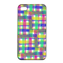 Doodle Pattern Freedom  Apple iPhone 4/4s Seamless Case (Black)