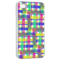 Doodle Pattern Freedom  Apple Iphone 4/4s Seamless Case (white)