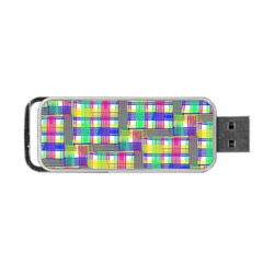 Doodle Pattern Freedom  Portable Usb Flash (two Sides)