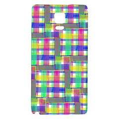 Doodle Pattern Freedom  Galaxy Note 4 Back Case