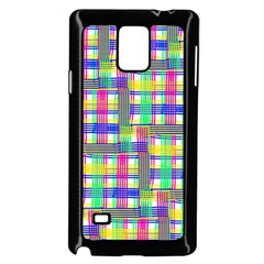 Doodle Pattern Freedom  Samsung Galaxy Note 4 Case (Black)