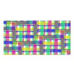 Doodle Pattern Freedom  Satin Shawl