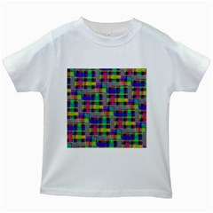 Doodle Pattern Freedom Black Kids White T-Shirts