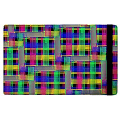 Doodle Pattern Freedom Black Apple Ipad 2 Flip Case