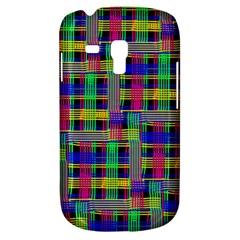 Doodle Pattern Freedom Black Samsung Galaxy S3 Mini I8190 Hardshell Case