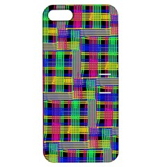 Doodle Pattern Freedom Black Apple Iphone 5 Hardshell Case With Stand