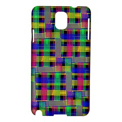 Doodle Pattern Freedom Black Samsung Galaxy Note 3 N9005 Hardshell Case