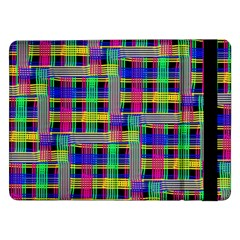 Doodle Pattern Freedom Black Samsung Galaxy Tab Pro 12 2  Flip Case